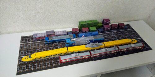鉄道系ペーパクラフト