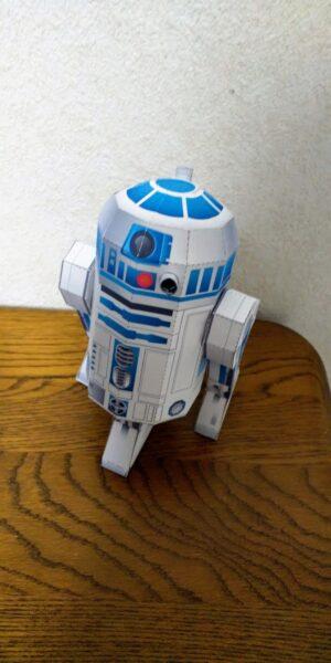 R2-D2のペーパークラフト