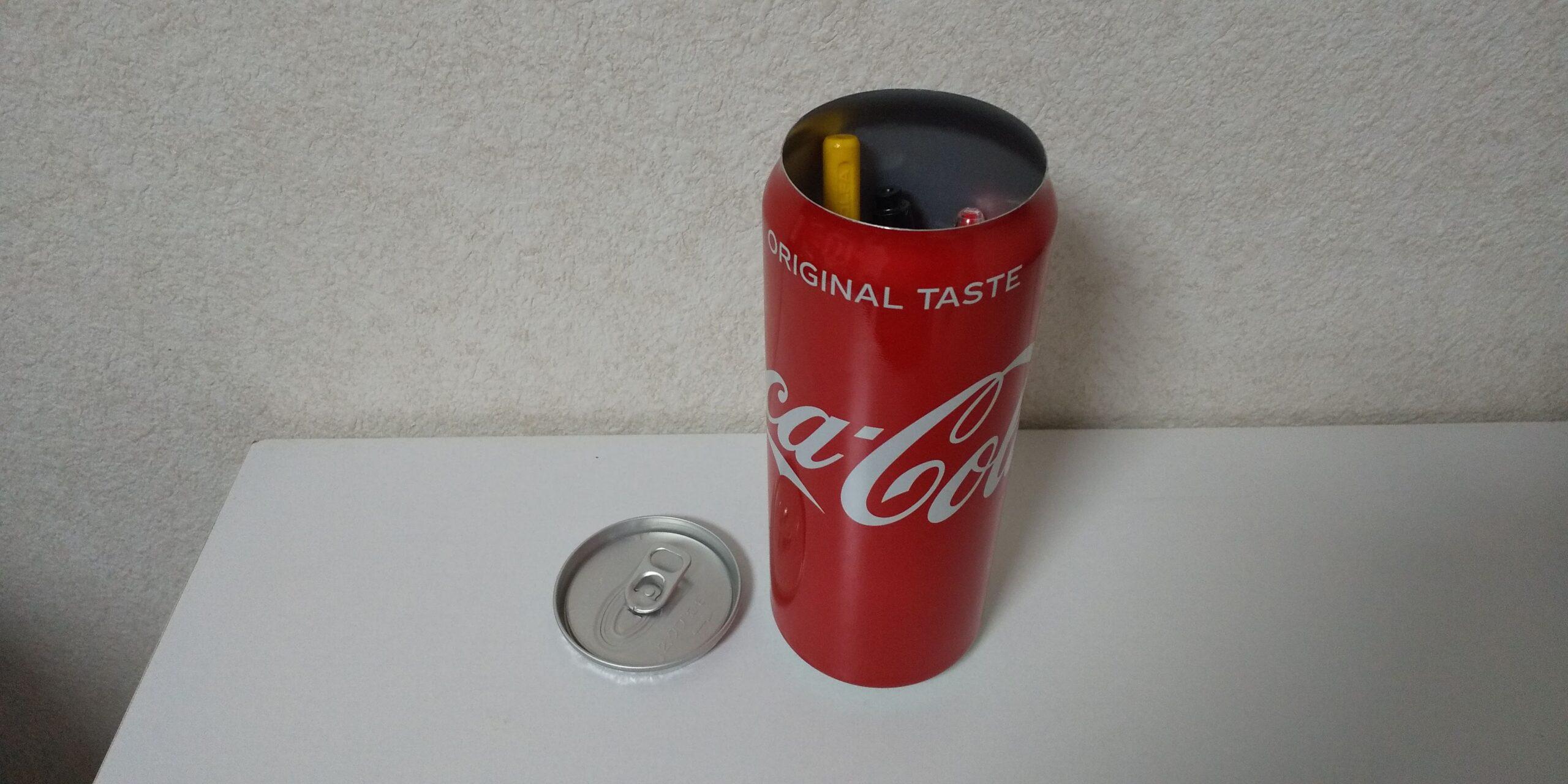 コカコーラ缶ペンケース